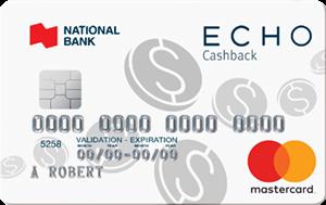 ECHO cashback Mastercard