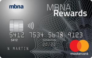 MBNA Rewards Platinum Plus Mastercard