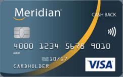 Meridian Visa Cash Back Card