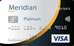 Meridian Visa Platinum Cash Back Card