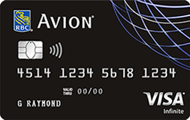 RBC Visa Infinite Avion
