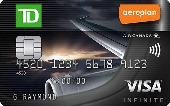 TD Aeroplan Visa Infinite Card