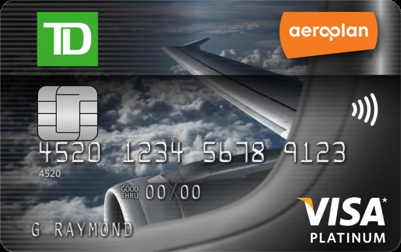 TD Aeroplan Visa Platinum Card