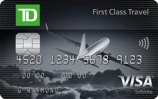 TD First Class Travel Visa Infinite Card