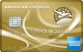 The American Express AIR MILES Credit Card