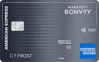 The Marriott Bonvoy American Express Card