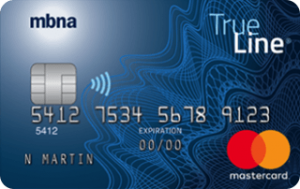 True Line Mastercard credit card